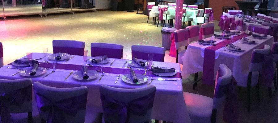 Zaal bruiloft 1